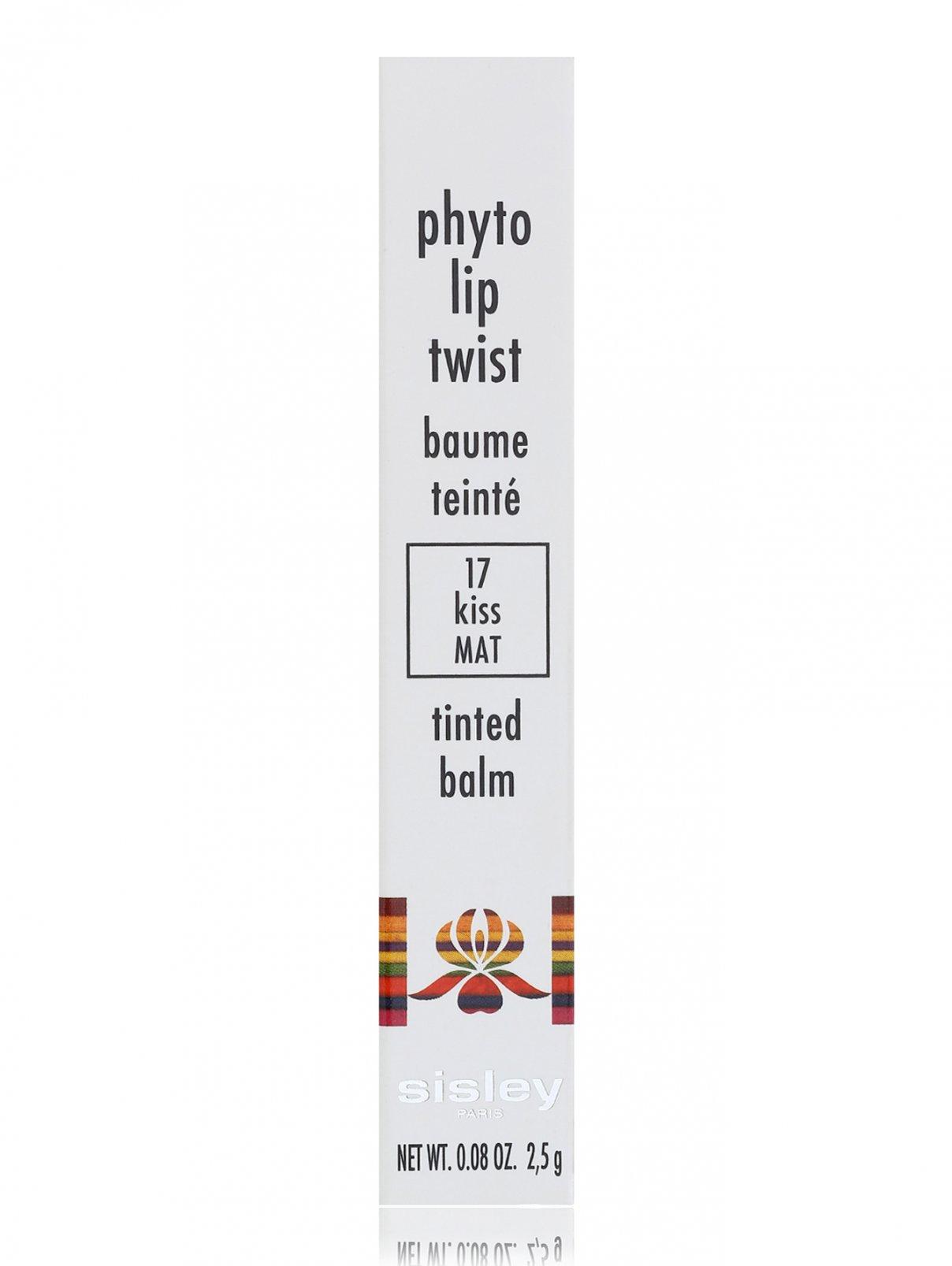 Блеск-карандаш для губ - №17 Kiss mat, Phyto-Lip Twist Sisley  –  Модель Общий вид
