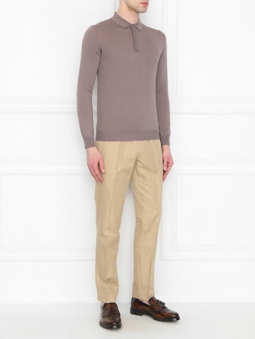 Джемпер из шелка и хлопка Kangra Cashmere - Общий вид