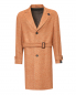 Пальто из шерсти с узором LARDINI  –  Общий вид
