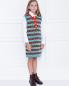 Платье из шерсти с узором Gucci  –  МодельВерхНиз