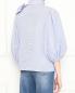 Блуза из хлопка с узором и вышивкой Red Valentino  –  МодельВерхНиз1