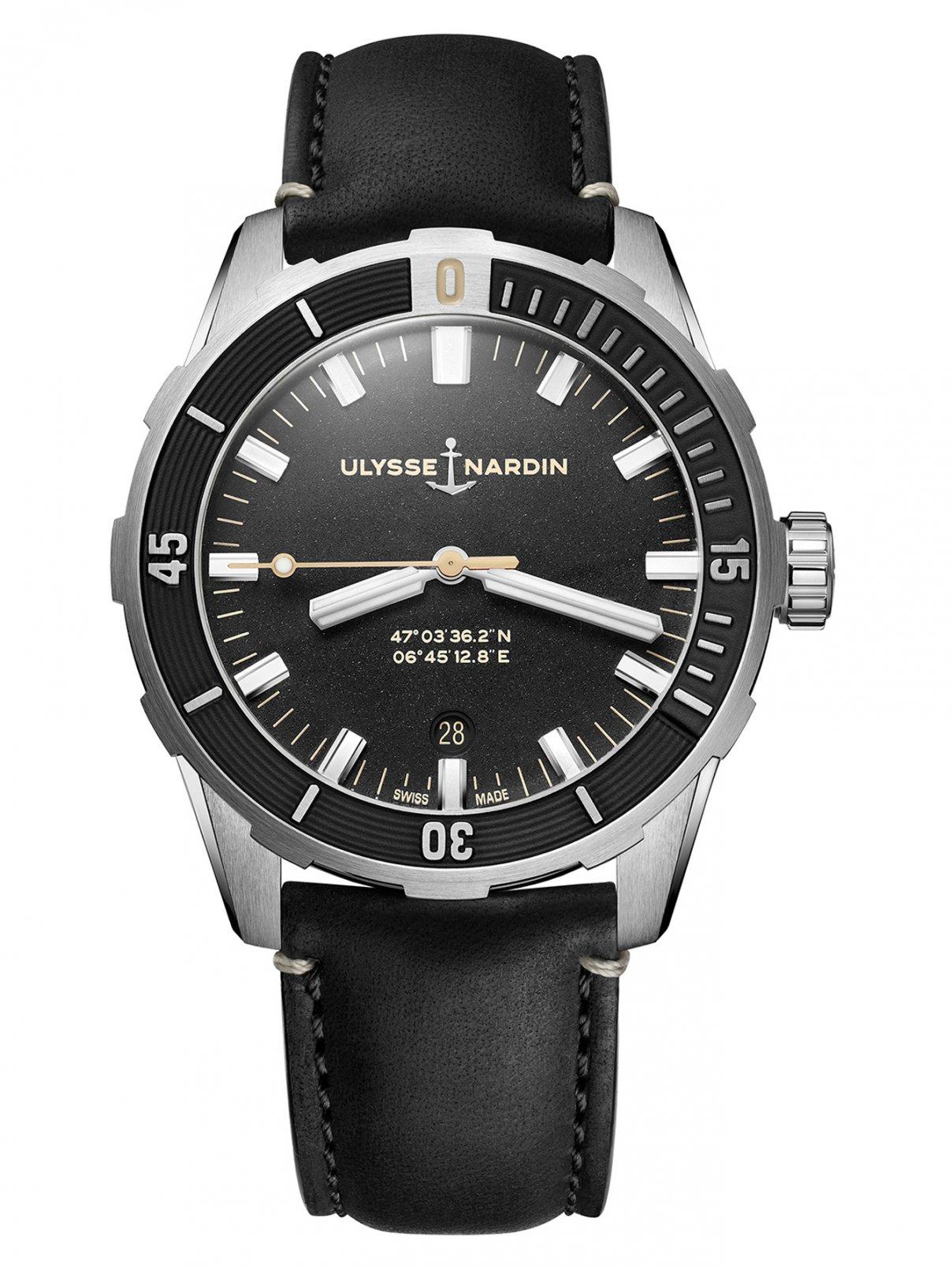 Часы 8163-175/92 Diver Ulysse Nardin  –  Общий вид
