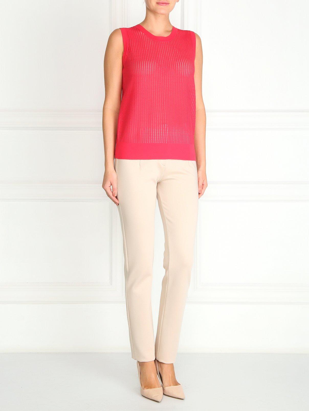 Прямые брюки из трикотажа Cacharel  –  Модель Общий вид