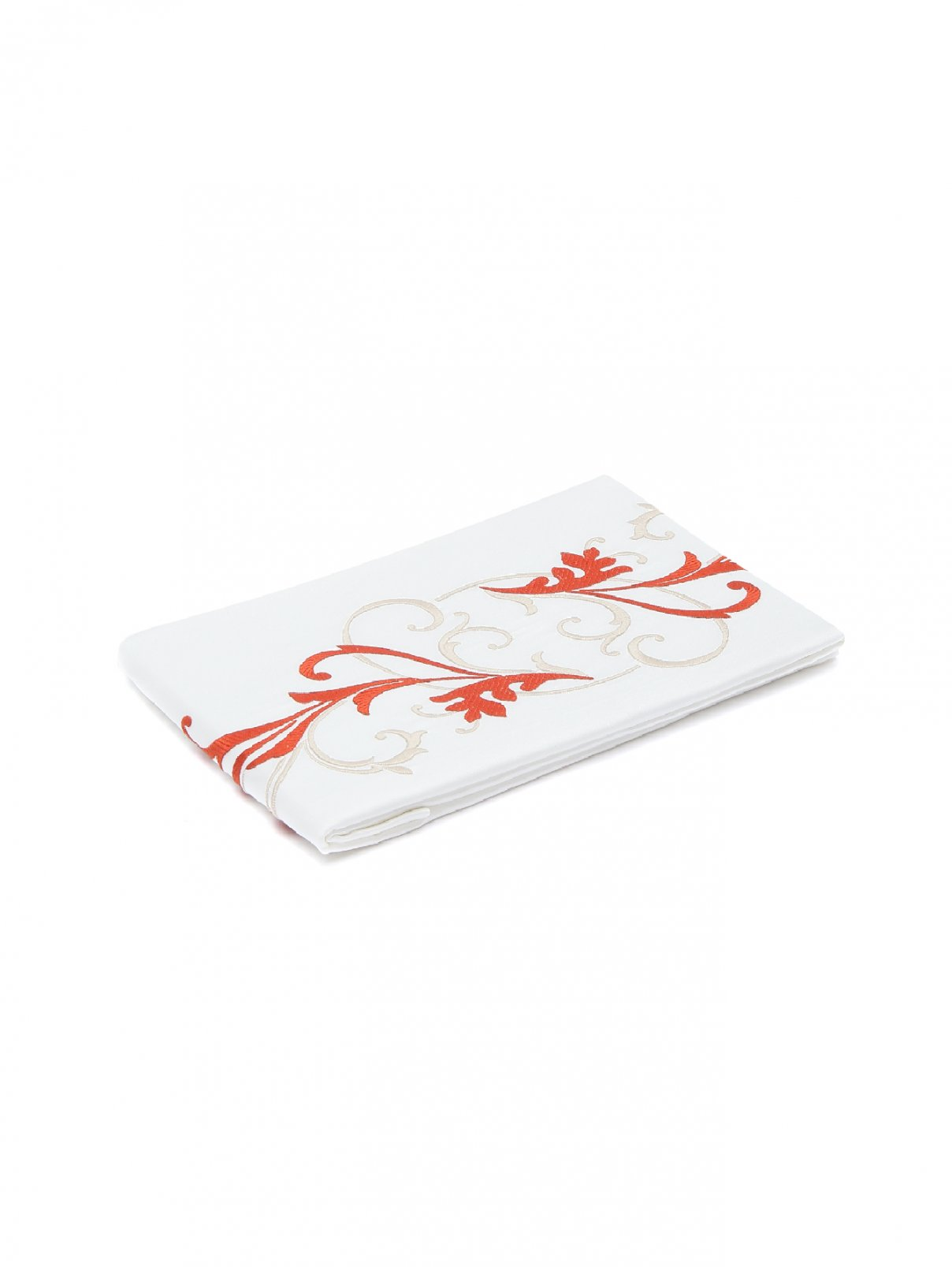 Наволочка из хлопка с декоративной вышивкой Frette  –  Общий вид