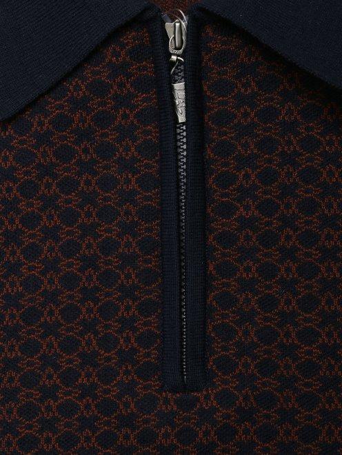 Джемпер из шерсти на молнии - Общий вид