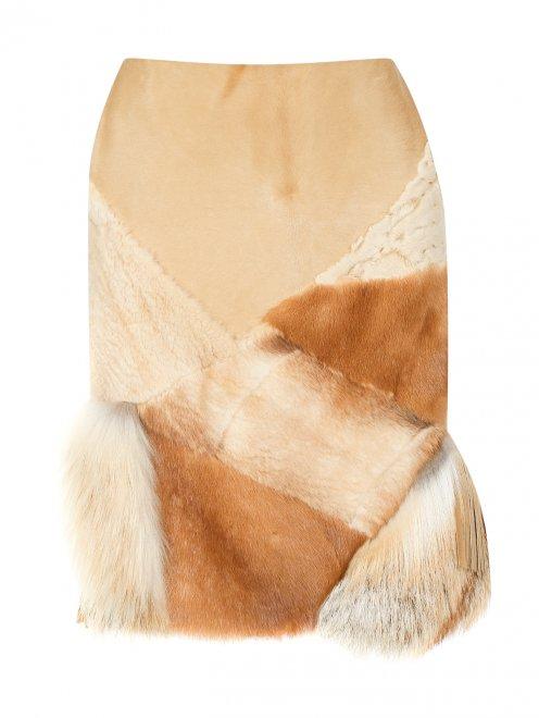 Юбка из меха - Общий вид