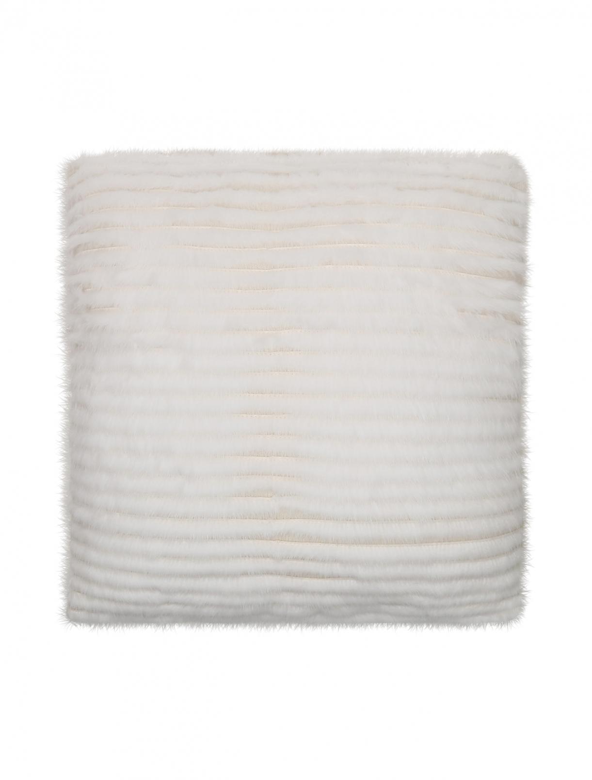 Подушка из кашемира и меха норки 40 x 40 Agnona  –  Общий вид