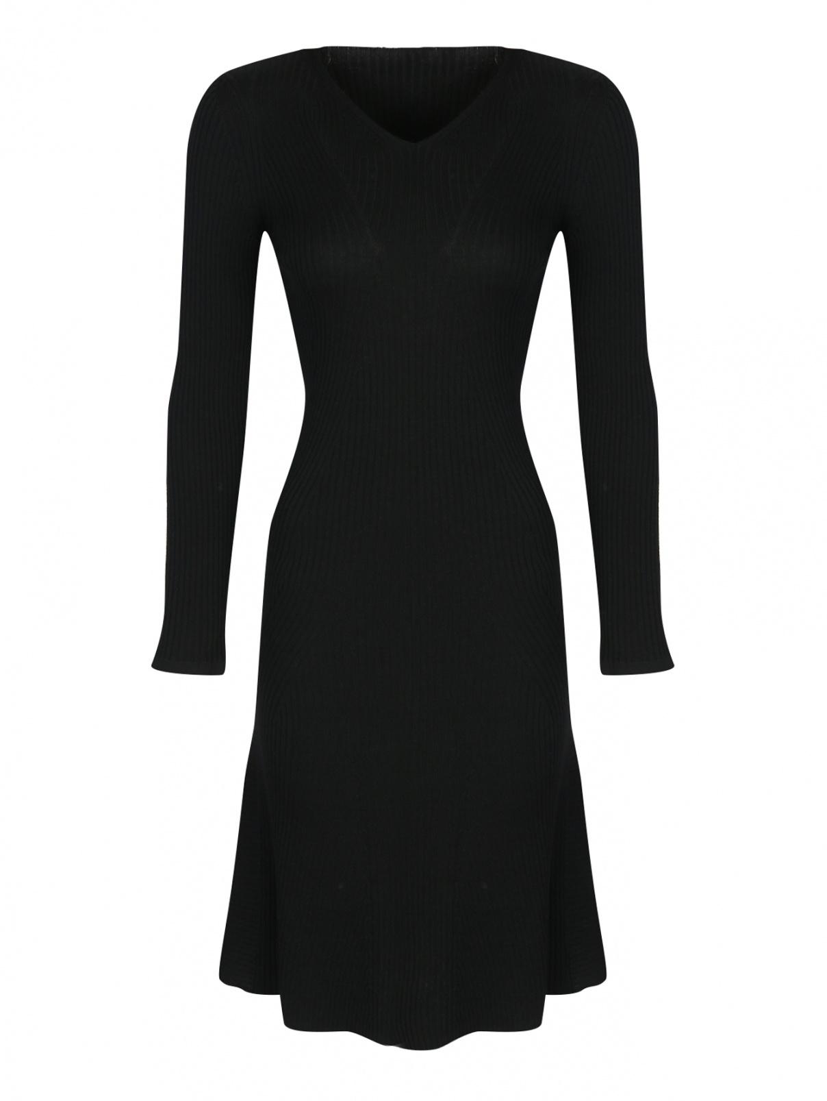 Платье трикотажное из шерсти Alberta Ferretti  –  Общий вид
