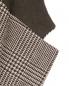 Пиджак из шерсти и льна с узором LARDINI  –  Деталь