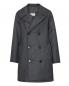 Куртка из шерсти свободного кроя с узором Maison Martin Margiela  –  Общий вид