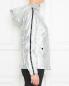 Трикотажная куртка на молнии с капюшоном Love Moschino  –  МодельВерхНиз2