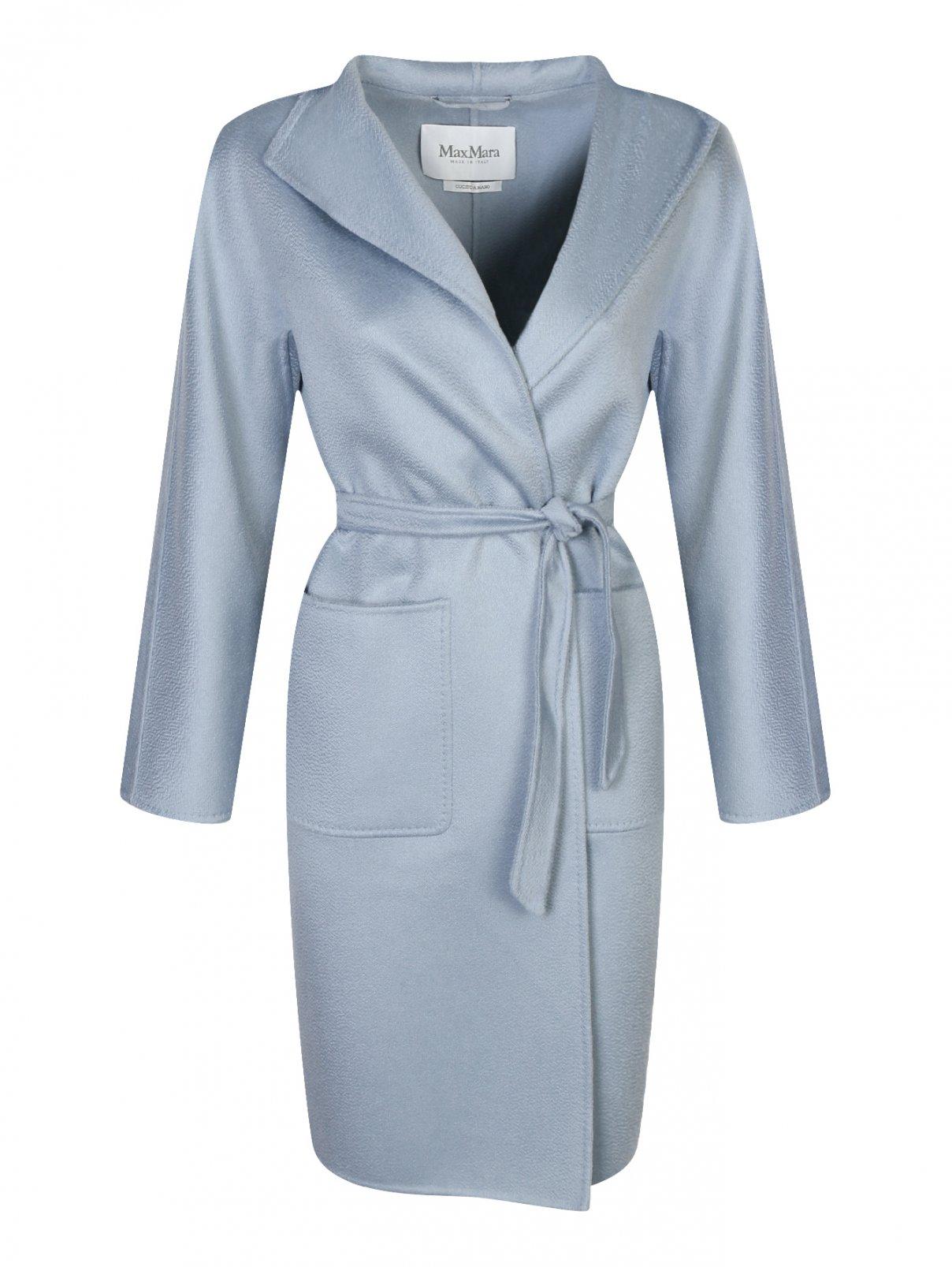 Пальто из кашемира с накладными карманами Max Mara  –  Общий вид