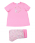 Пижама из хлопка с узором Sanetta  –  Общий вид