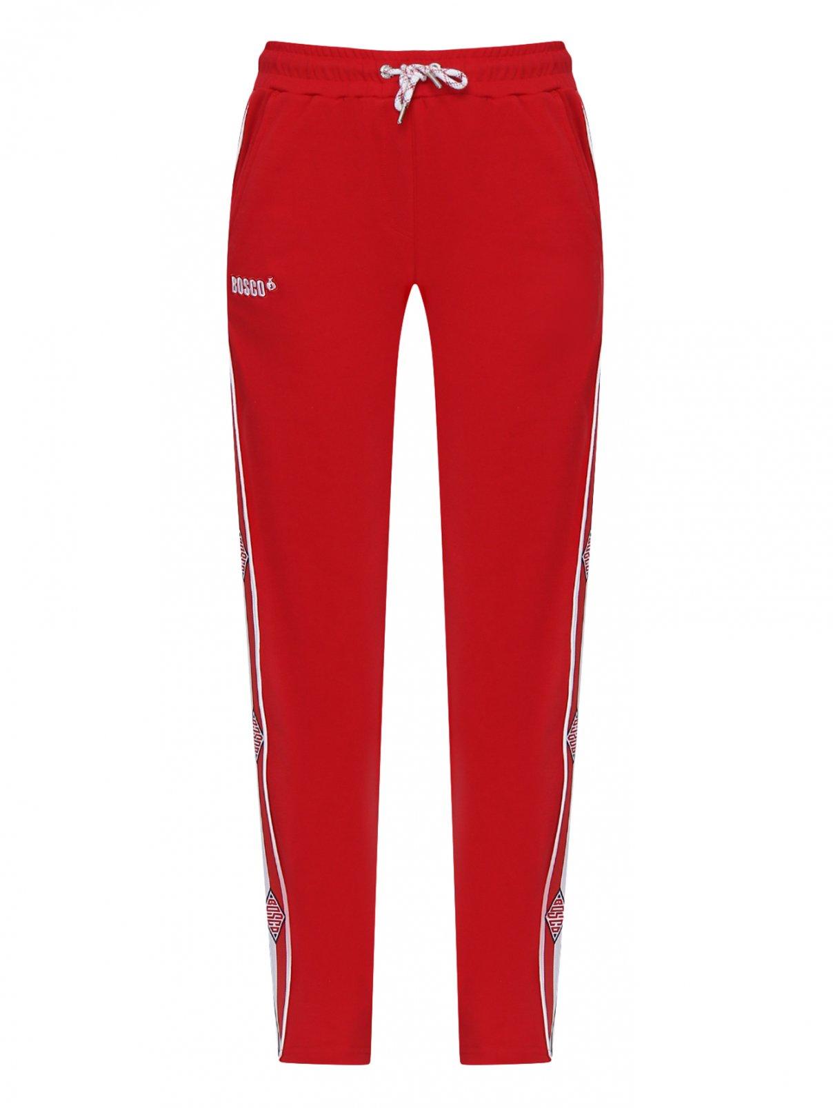 Спортивные брюки из хлопка с лампасами Bosco Sport  –  Общий вид