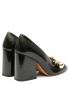 Туфли из кожи с металлической фурнитурой на устойчивом каблуке Marni  –  Обтравка2