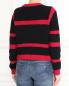 Джемпер из хлопка и шерсти фактурной вязки Emporio Armani  –  Модель Верх-Низ1