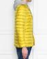 Стеганая куртка с капюшоном и накладными карманами Herno  –  МодельВерхНиз2